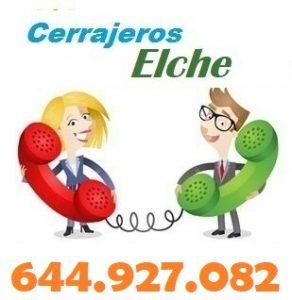 Telefono de la empresa cerrajeros Elche